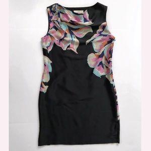 Loft midi sleeveless dress size 8